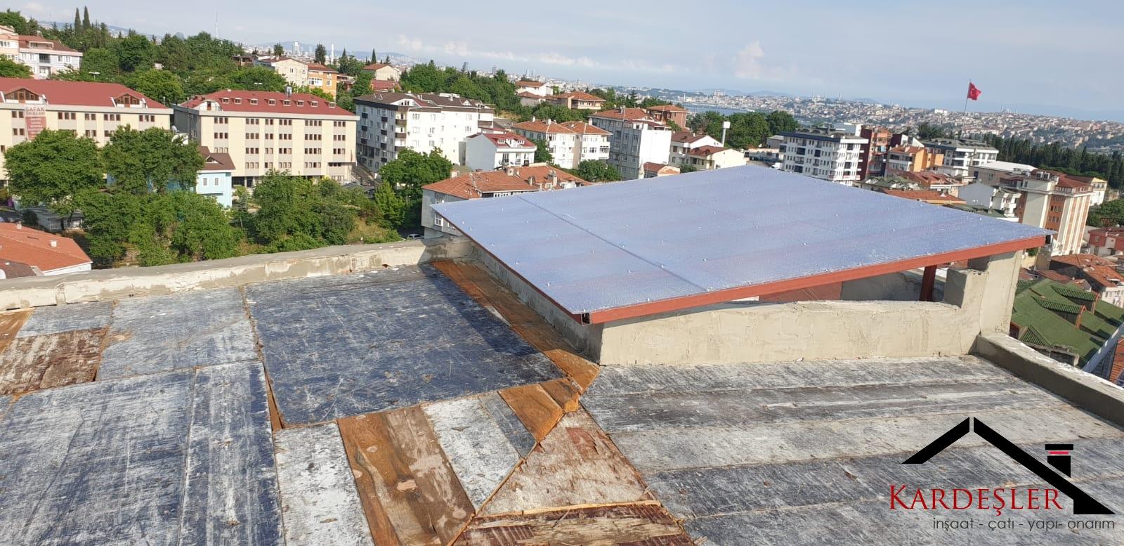 çatı sızıntılarının oluşurumu ve giderilmesi
