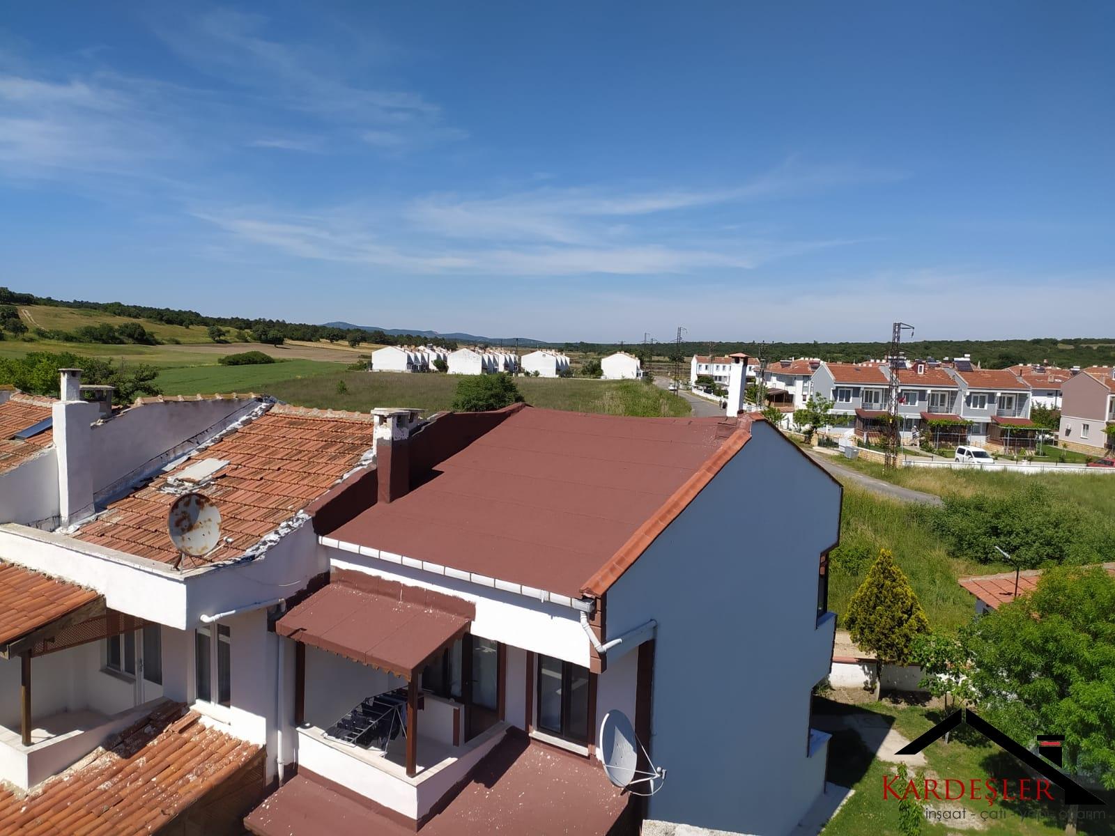 çatı eğimine göre hangi çatı malzemesi